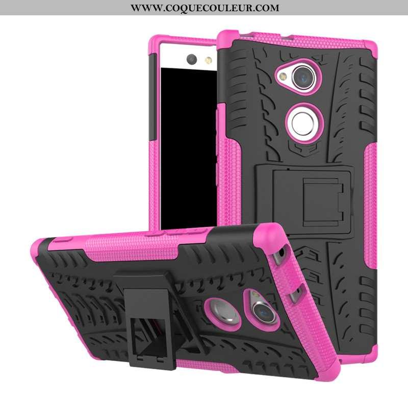 Étui Sony Xperia Xa2 Protection Support Tout Compris, Coque Sony Xperia Xa2 Téléphone Portable Rose