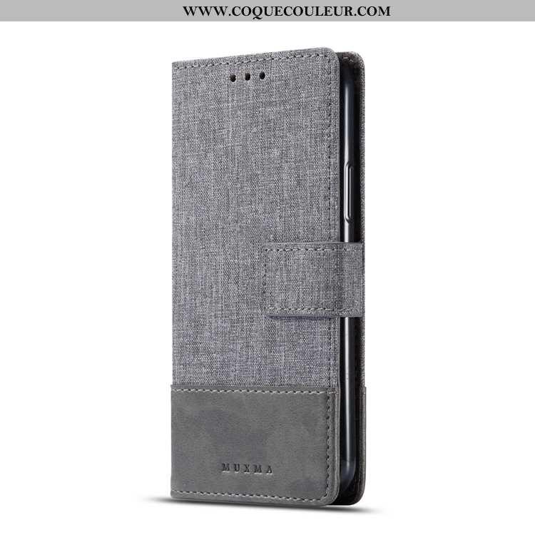 Coque Sony Xperia Xa2 Fluide Doux Gris Étui, Housse Sony Xperia Xa2 Protection Modèle Fleurie