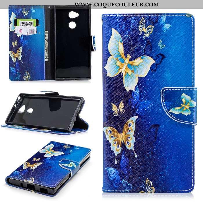 Étui Sony Xperia Xa2 Ultra Fluide Doux Bleu Protection, Coque Sony Xperia Xa2 Ultra Silicone