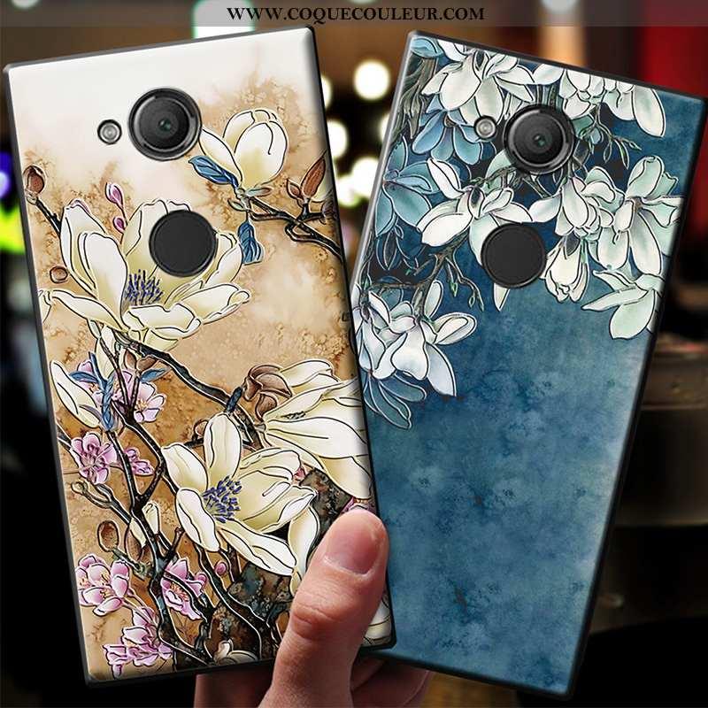 Étui Sony Xperia Xa2 Ultra Délavé En Daim Téléphone Portable Fluide Doux, Coque Sony Xperia Xa2 Ultr