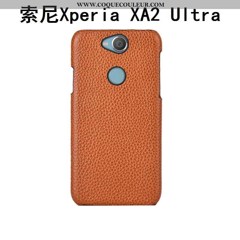 Coque Sony Xperia Xa2 Ultra Mode Litchi Luxe, Housse Sony Xperia Xa2 Ultra Protection Couvercle Arri