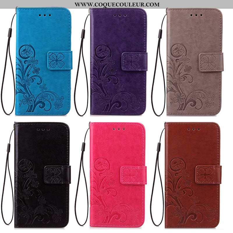 Étui Sony Xperia Xa2 Ultra Cuir Tout Compris, Coque Sony Xperia Xa2 Ultra Fluide Doux Housse Bleu