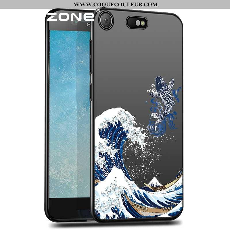 Housse Sony Xperia Xz Premium Délavé En Daim Difficile Style Chinois, Étui Sony Xperia Xz Premium Ul