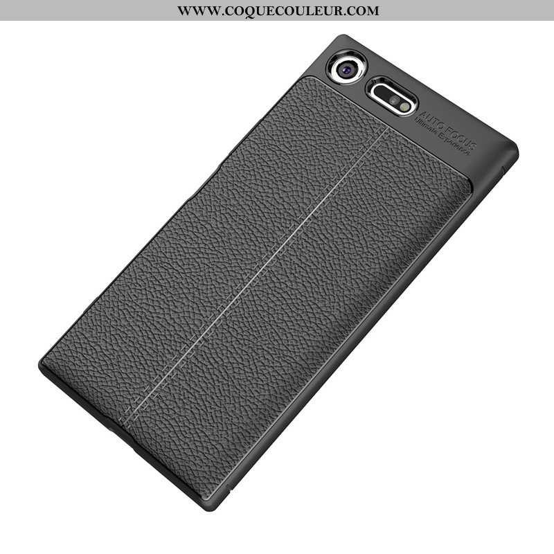 Coque Sony Xperia Xz Premium Fluide Doux Nouveau Noir, Housse Sony Xperia Xz Premium Silicone Épaiss