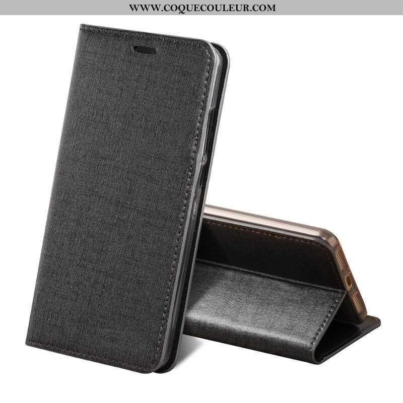 Coque Sony Xperia Xz1 Compact Luxe Protection, Housse Sony Xperia Xz1 Compact Cuir Véritable Étui No