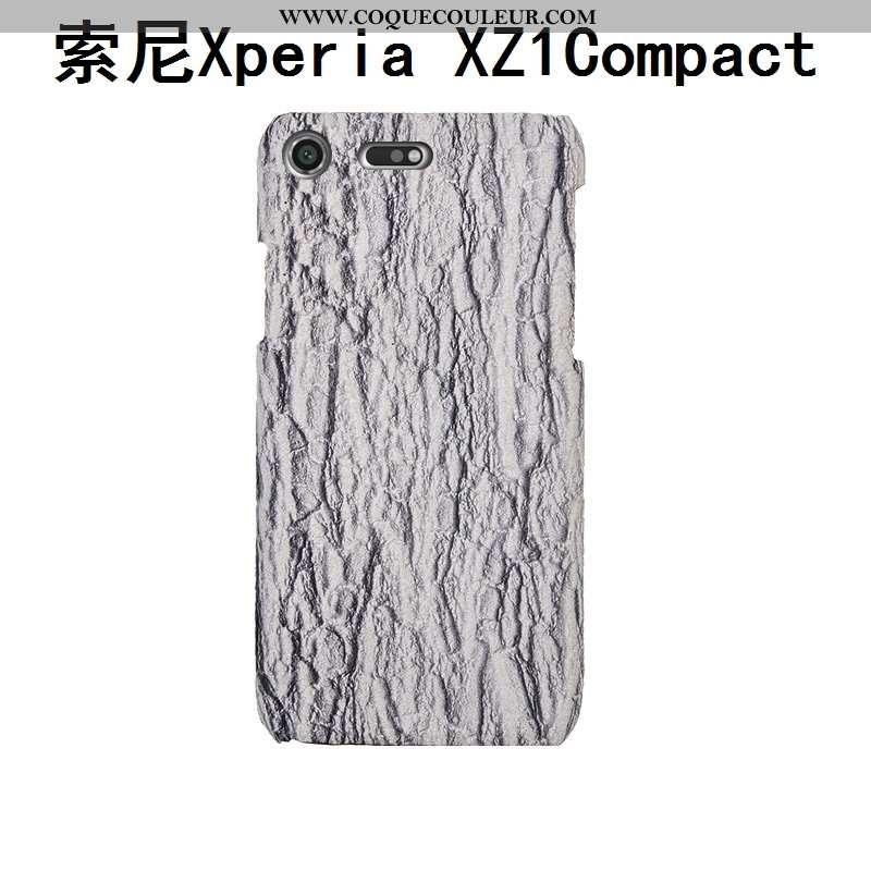 Coque Sony Xperia Xz1 Compact Mode Arbres Créatif, Housse Sony Xperia Xz1 Compact Protection Luxe Gr