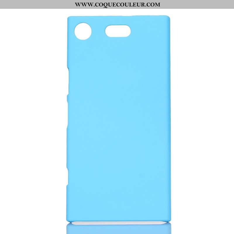 Housse Sony Xperia Xz1 Compact Délavé En Daim Étui Difficile, Sony Xperia Xz1 Compact Protection Ble