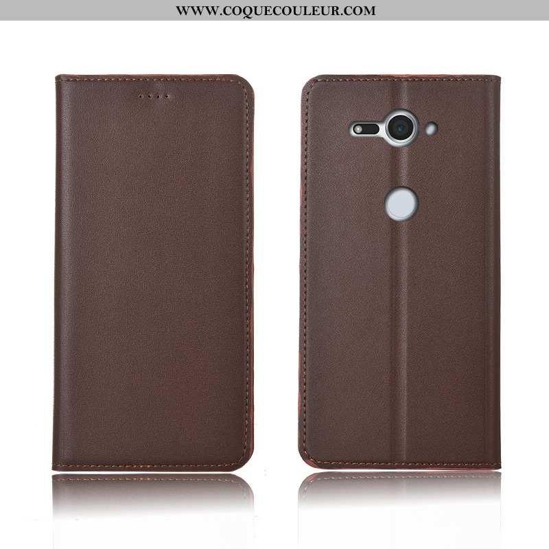 Coque Sony Xperia Xz2 Compact Fluide Doux Téléphone Portable Incassable, Housse Sony Xperia Xz2 Comp