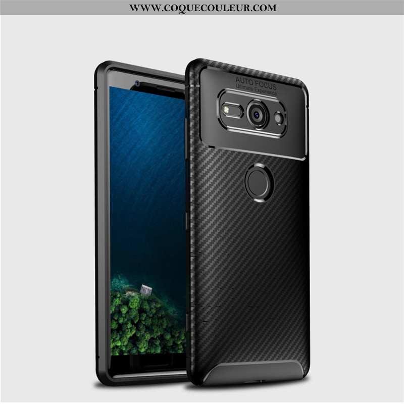 Housse Sony Xperia Xz2 Compact Délavé En Daim Fluide Doux Protection, Étui Sony Xperia Xz2 Compact M