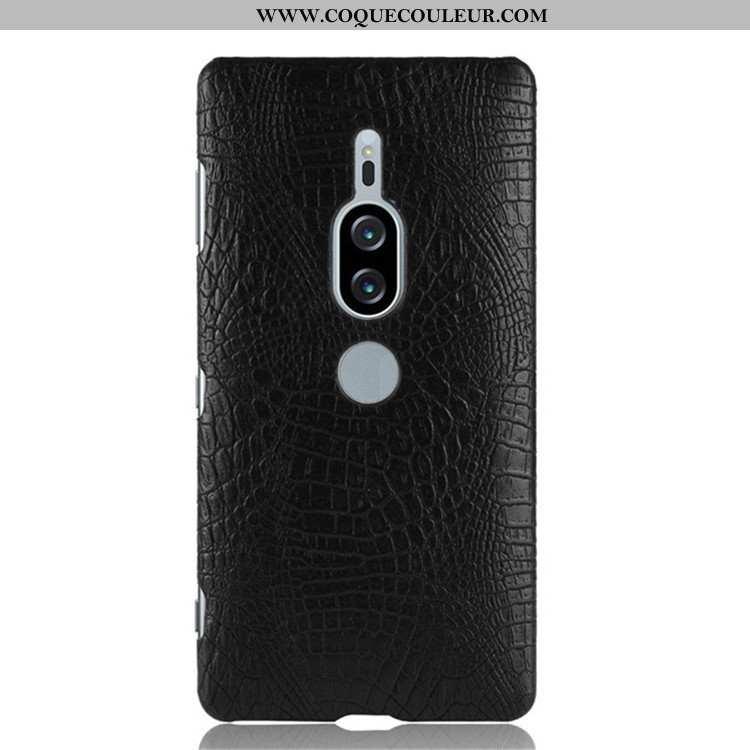 Housse Sony Xperia Xz2 Premium Modèle Fleurie Crocodile Téléphone Portable, Étui Sony Xperia Xz2 Pre