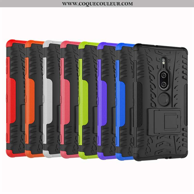 Coque Sony Xperia Xz2 Premium Modèle Fleurie Tout Compris Armure, Housse Sony Xperia Xz2 Premium Sil