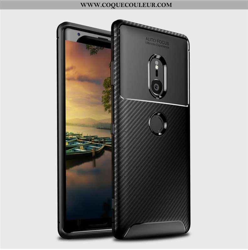 Housse Sony Xperia Xz2 Protection Incassable Téléphone Portable, Étui Sony Xperia Xz2 Noir Coque