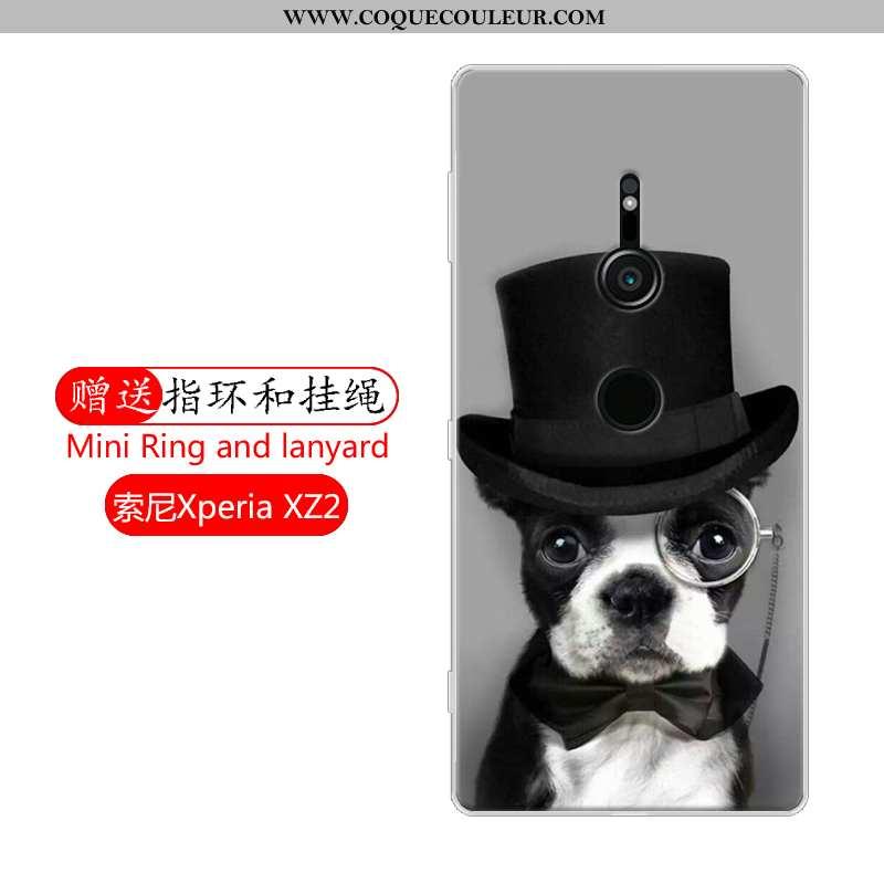 Coque Sony Xperia Xz2 Protection Étui, Housse Sony Xperia Xz2 Tout Compris Téléphone Portable Noir