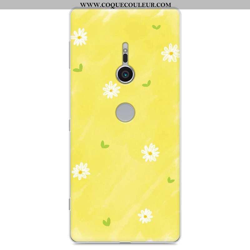 Housse Sony Xperia Xz2 Tendance Protection Silicone, Étui Sony Xperia Xz2 Fluide Doux Téléphone Port
