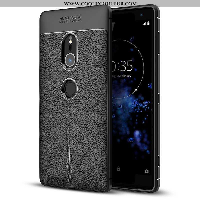 Coque Sony Xperia Xz2 Silicone Tout Compris Fluide Doux, Housse Sony Xperia Xz2 Protection Noir