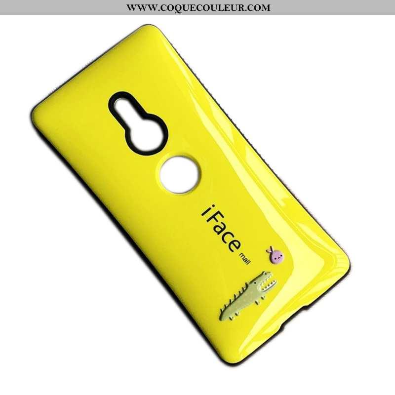 Étui Sony Xperia Xz2 Coque En Silicone Téléphone Portable Jaune, Sony Xperia Xz2 Protection Tout Com