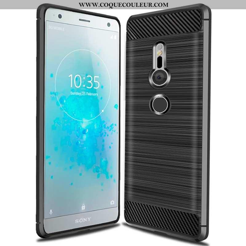 Housse Sony Xperia Xz3 Fluide Doux Téléphone Portable Noir, Étui Sony Xperia Xz3 Silicone Protection