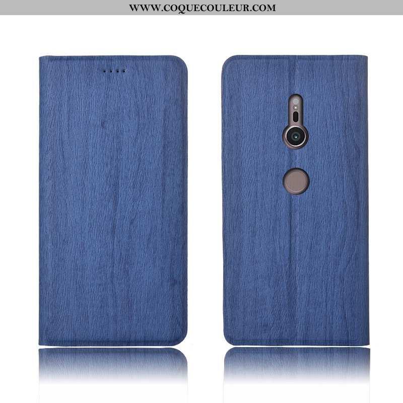 Coque Sony Xperia Xz3 Cuir Incassable Protection, Housse Sony Xperia Xz3 Modèle Fleurie Téléphone Po