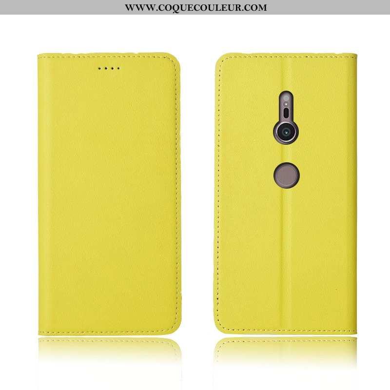 Housse Sony Xperia Xz3 Protection Nouveau Tout Compris, Étui Sony Xperia Xz3 Cuir Véritable Clamshel