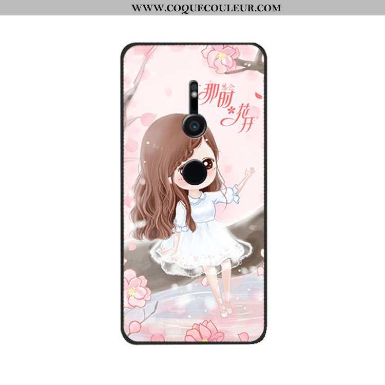 Housse Sony Xperia Xz3 Personnalité Téléphone Portable Fluide Doux, Étui Sony Xperia Xz3 Créatif Sil