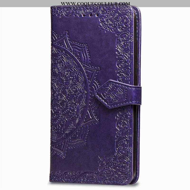 Étui Sony Xperia Xz3 Fluide Doux Tout Compris Coque, Coque Sony Xperia Xz3 Silicone Clamshell Violet
