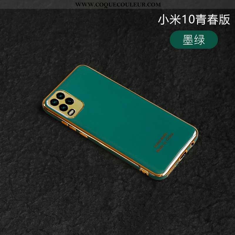 Housse Xiaomi Mi 10 Lite Créatif Tout Compris Net Rouge, Étui Xiaomi Mi 10 Lite Silicone Nouveau Tur
