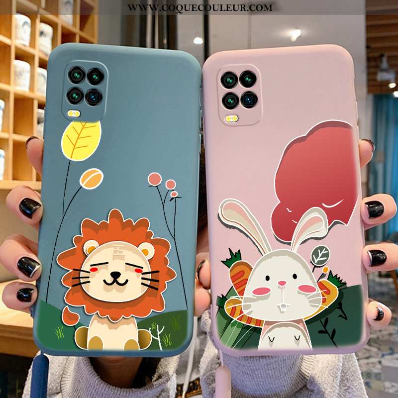 Étui Xiaomi Mi 10 Lite Ultra Charmant Étui, Coque Xiaomi Mi 10 Lite Tendance Bleu