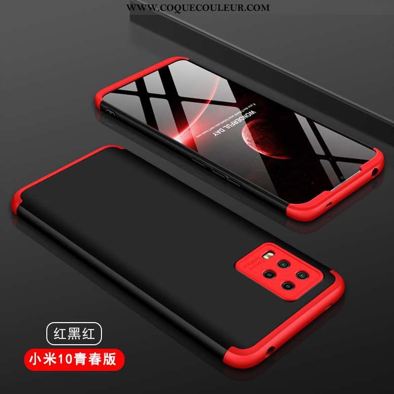 Housse Xiaomi Mi 10 Lite Délavé En Daim Téléphone Portable Coque, Étui Xiaomi Mi 10 Lite Personnalit