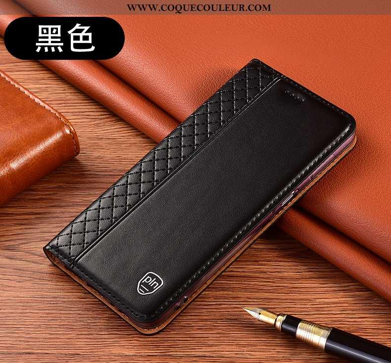 Étui Xiaomi Mi 10 Lite Protection Incassable Tout Compris, Coque Xiaomi Mi 10 Lite Cuir Véritable Ho
