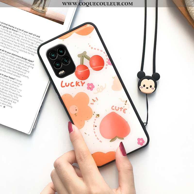 Étui Xiaomi Mi 10 Lite Créatif Silicone Tout Compris, Coque Xiaomi Mi 10 Lite Fluide Doux Personnali