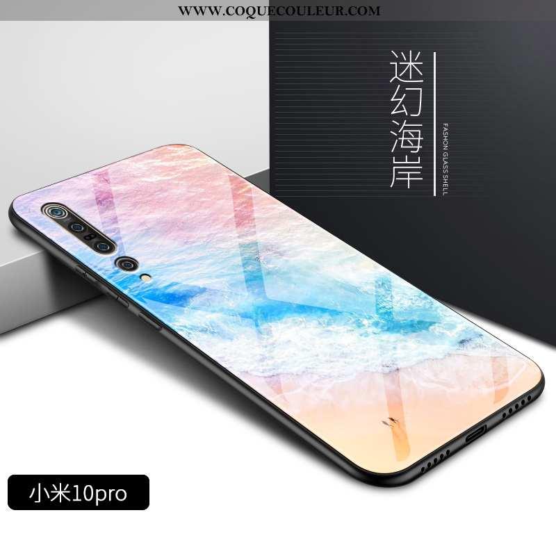 Housse Xiaomi Mi 10 Pro Mode Coque Téléphone Portable, Étui Xiaomi Mi 10 Pro Protection Difficile Ro