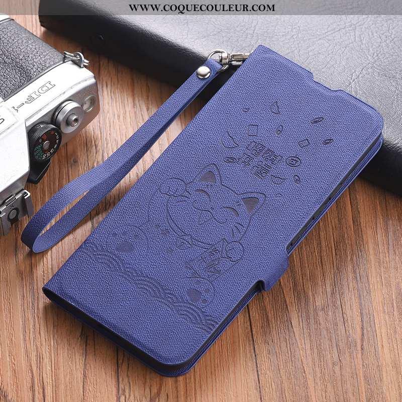 Coque Xiaomi Mi 10 Pro Personnalité Silicone Net Rouge, Housse Xiaomi Mi 10 Pro Créatif Amoureux Ble