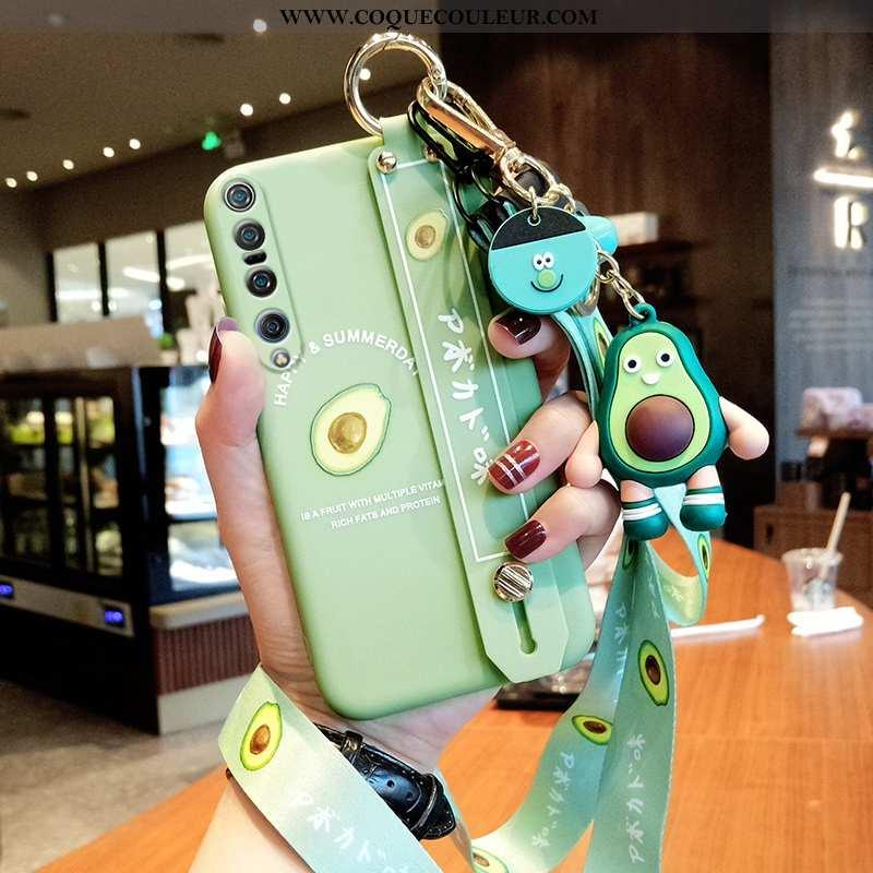 Étui Xiaomi Mi 10 Pro Silicone Vert Petit, Coque Xiaomi Mi 10 Pro Protection Verte