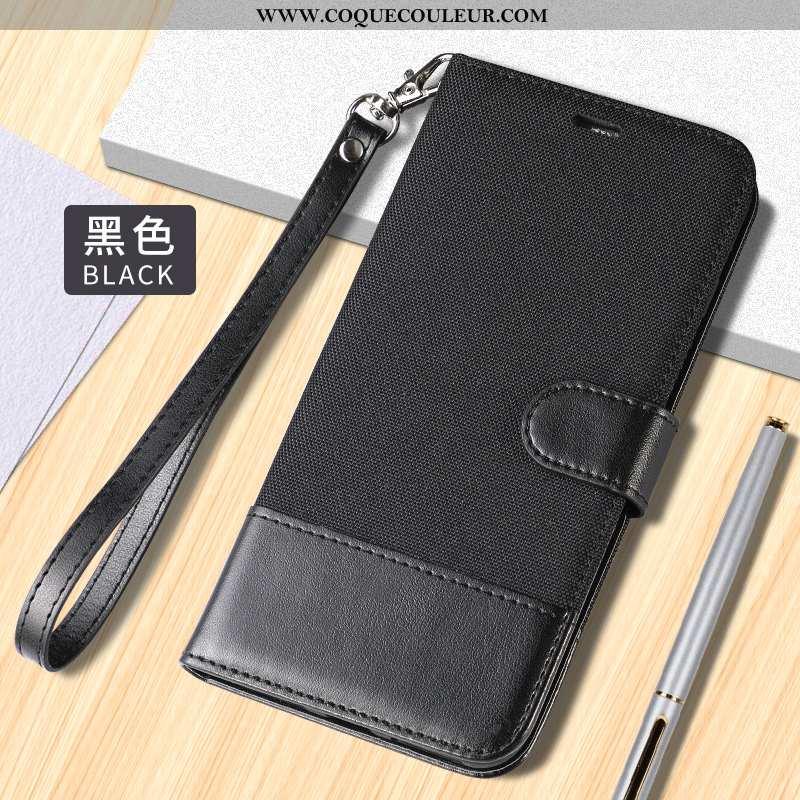 Housse Xiaomi Mi 10 Pro Protection Petit Téléphone Portable, Étui Xiaomi Mi 10 Pro Cuir Incassable N