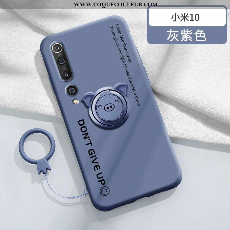 Coque Xiaomi Mi 10 Protection Étui, Housse Xiaomi Mi 10 Créatif À Bord Bleu