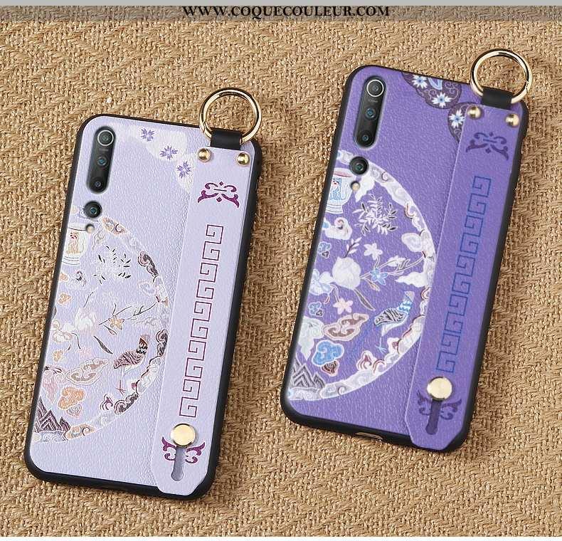 Étui Xiaomi Mi 10 Ultra Téléphone Portable Incassable, Coque Xiaomi Mi 10 Tendance Violet