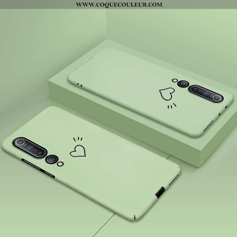 Étui Xiaomi Mi 10 Tendance Difficile Protection, Coque Xiaomi Mi 10 Légère Personnalité Verte
