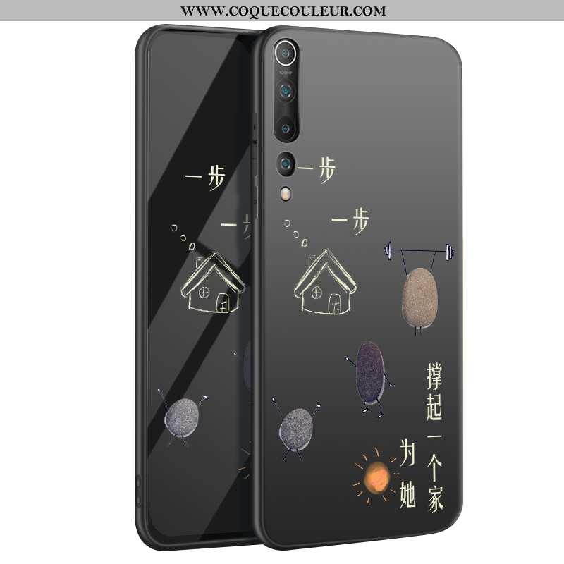Housse Xiaomi Mi 10 Délavé En Daim Protection Tout Compris, Étui Xiaomi Mi 10 Tendance Incassable No