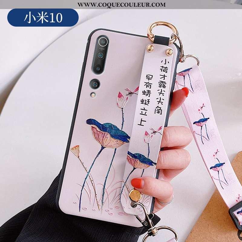 Housse Xiaomi Mi 10 Ultra Rose Incassable, Étui Xiaomi Mi 10 Légère Téléphone Portable