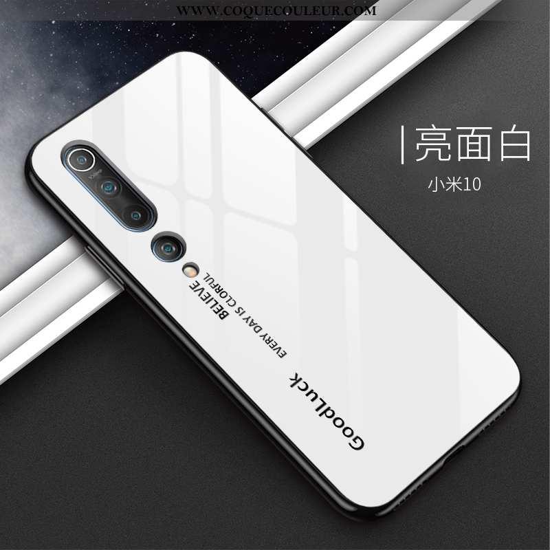 Coque Xiaomi Mi 10 Délavé En Daim Créatif Téléphone Portable, Housse Xiaomi Mi 10 Personnalité Tout