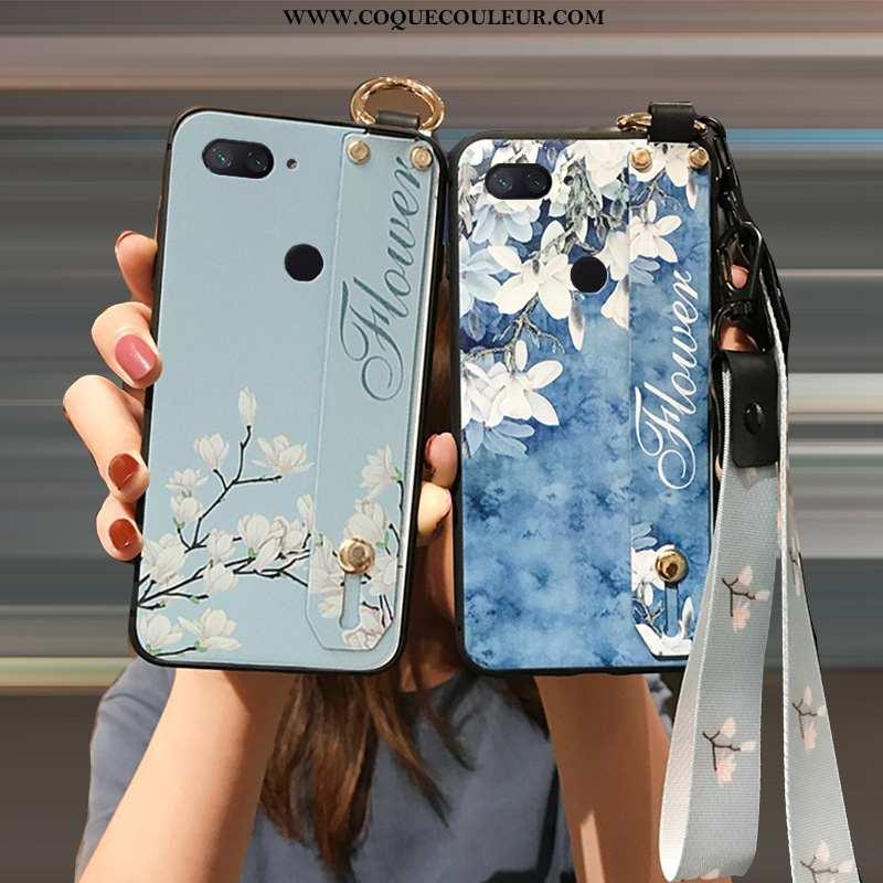 Coque Xiaomi Mi 8 Lite Ornements Suspendus Incassable Petit, Housse Xiaomi Mi 8 Lite Fluide Doux Ble