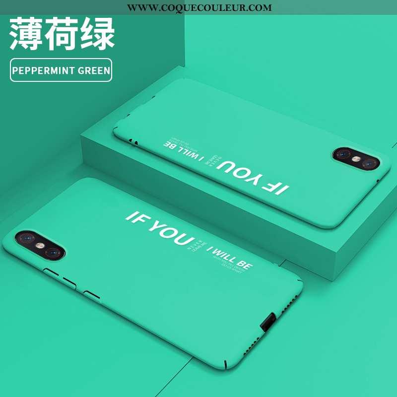 Étui Xiaomi Mi 8 Pro Modèle Fleurie Tendance Petit, Coque Xiaomi Mi 8 Pro Protection Incassable Vert