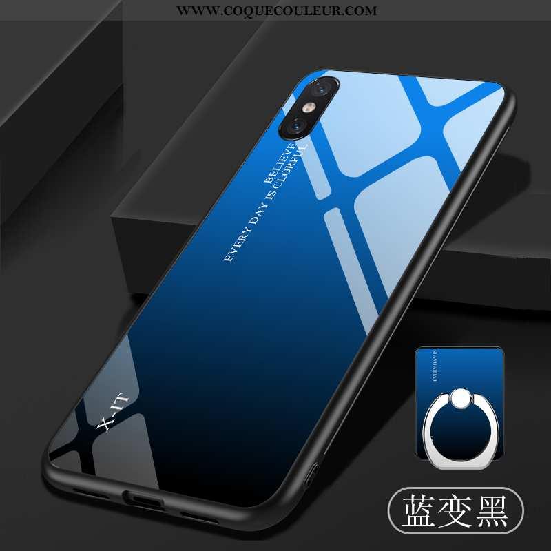 Housse Xiaomi Mi 8 Pro Personnalité Tout Compris Tempérer, Étui Xiaomi Mi 8 Pro Tendance Téléphone P