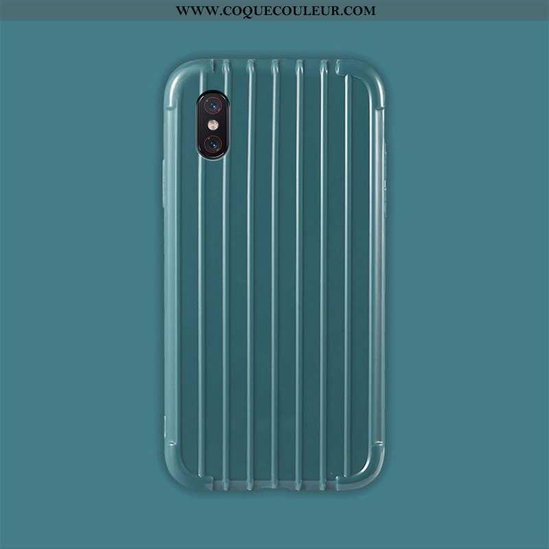 Housse Xiaomi Mi 8 Pro Modèle Fleurie Incassable Bleu, Étui Xiaomi Mi 8 Pro Fluide Doux Refroidissem