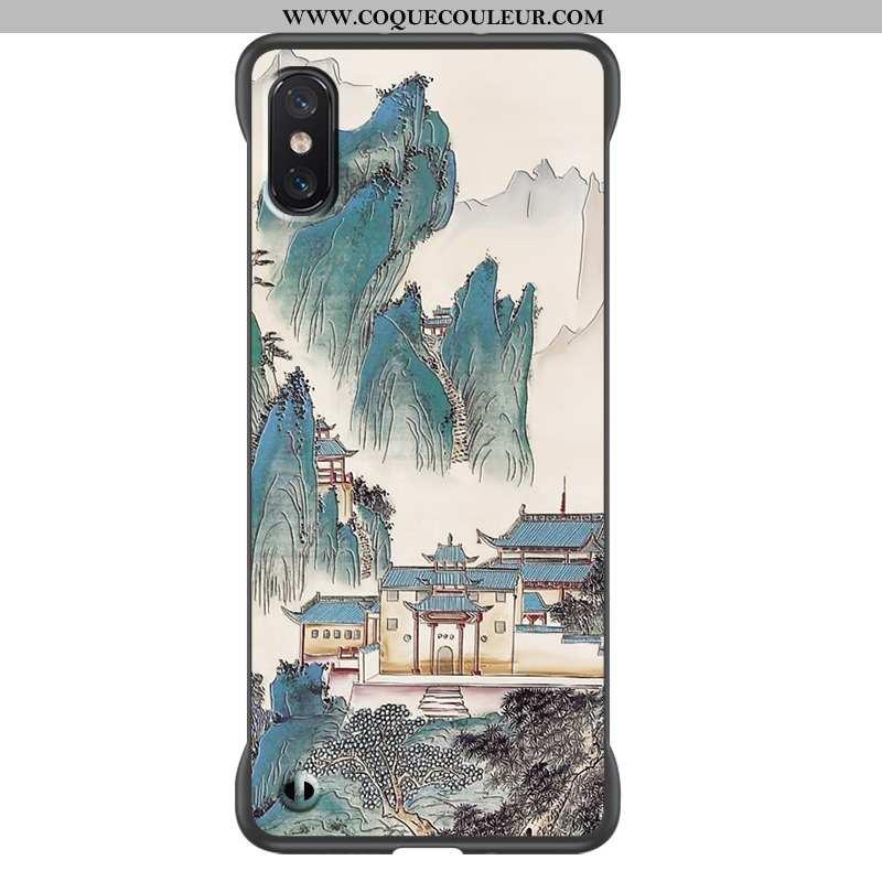 Étui Xiaomi Mi 8 Pro Tendance Tout Compris Fluide Doux, Coque Xiaomi Mi 8 Pro Modèle Fleurie Incassa