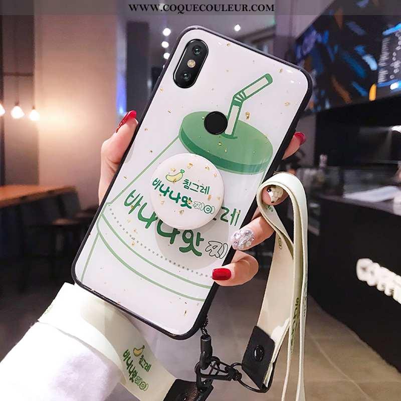 Coque Xiaomi Mi 8 Protection Téléphone Portable, Housse Xiaomi Mi 8 Personnalité Étui Verte