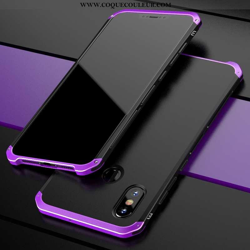 Housse Xiaomi Mi 8 Créatif Petit Violet, Étui Xiaomi Mi 8 Tendance Incassable Violet