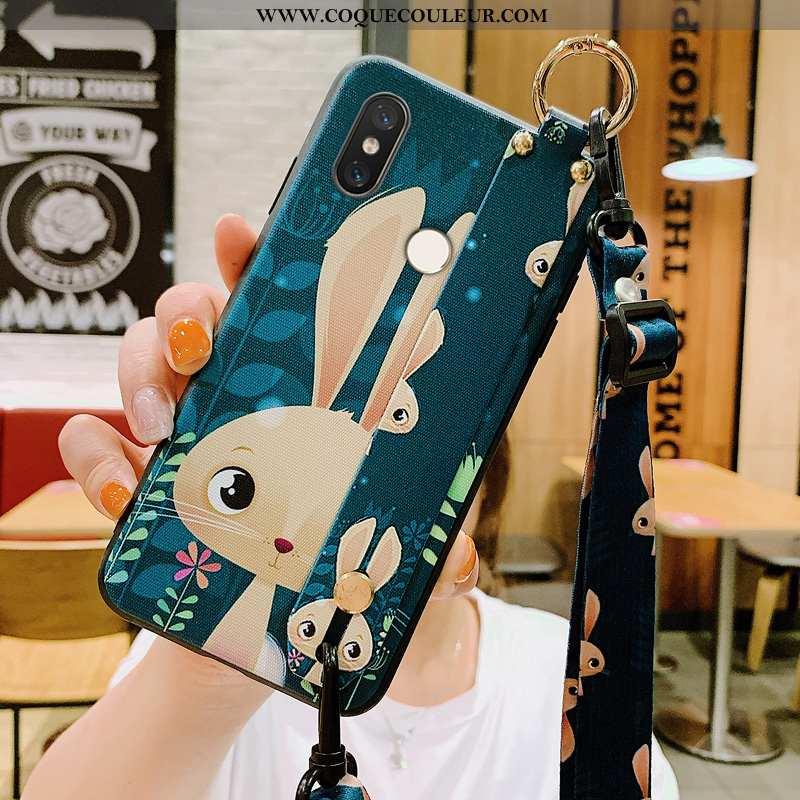 Étui Xiaomi Mi 8 Modèle Fleurie Dessin Animé Étui, Coque Xiaomi Mi 8 Silicone Créatif Verte