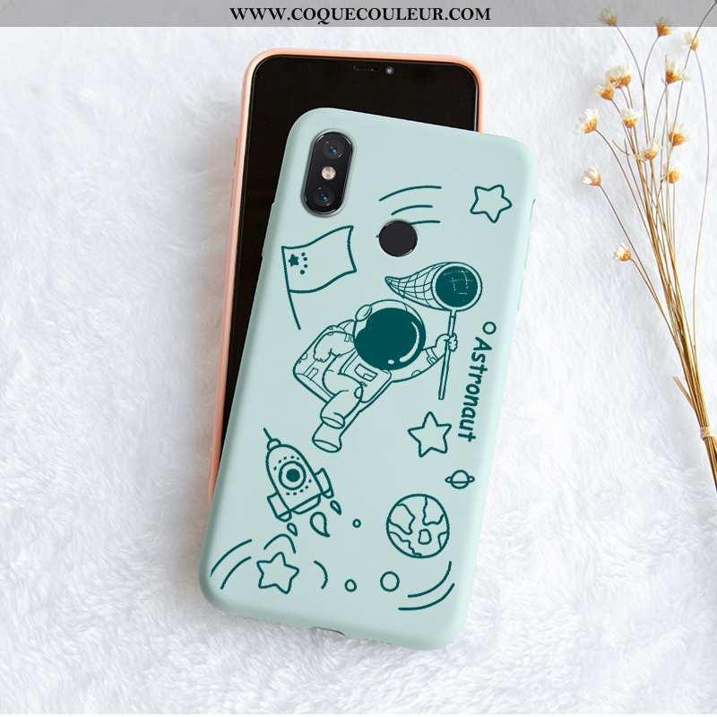 Coque Xiaomi Mi 8 Protection Vent Tendance, Housse Xiaomi Mi 8 Personnalité Incassable Bleu