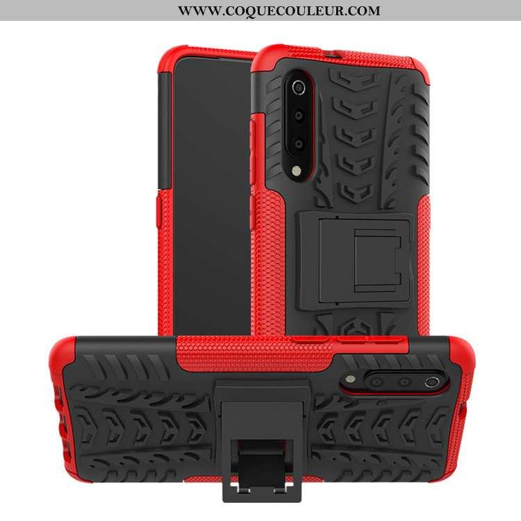 Étui Xiaomi Mi 9 Lite Silicone Jeunesse Difficile, Coque Xiaomi Mi 9 Lite Protection Rouge